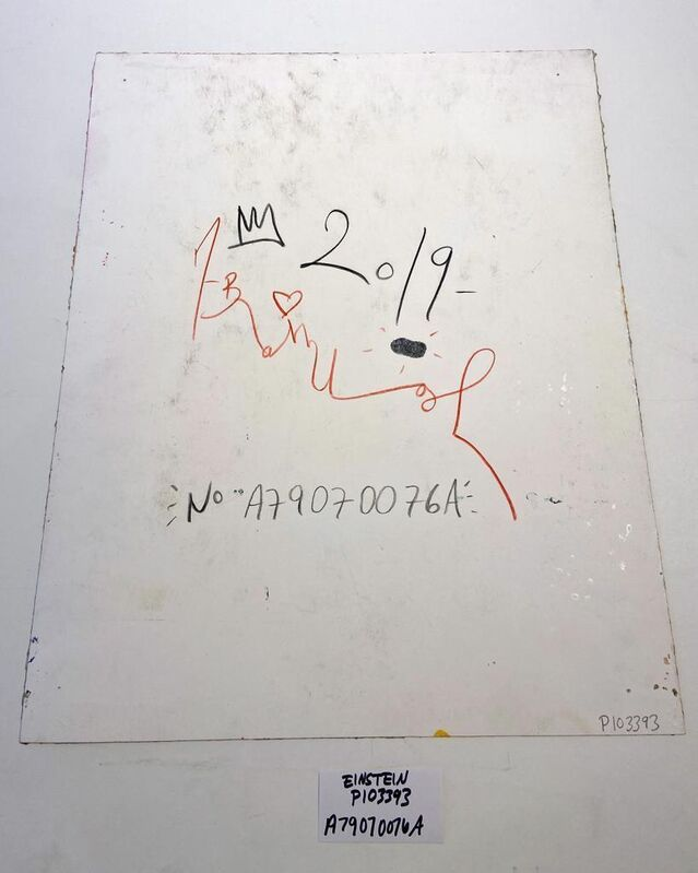 Mr. Brainwash, 'Einstein', 2019, Print, Silkscreen & Mixed Media, Hamilton-Selway Fine Art Gallery Auction