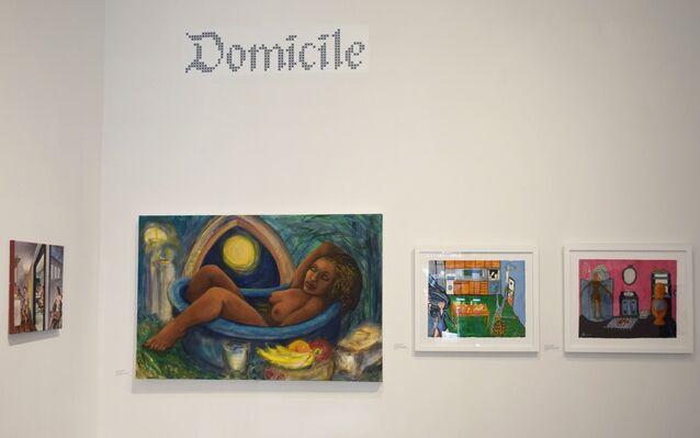 Domicile, installation view