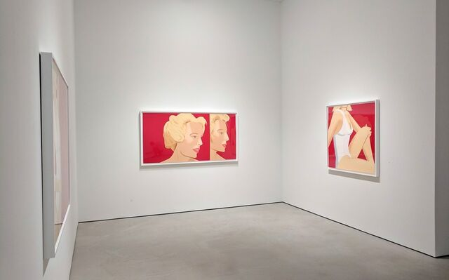 Alex Katz - Coca-Cola Girl, installation view
