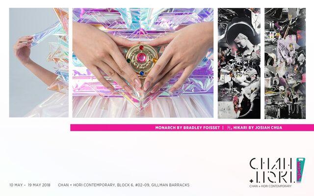 EXP series 2:  光,HIKARI by Josiah Chua | Monarch by Bradley Foisset, installation view