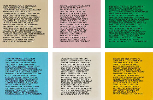 Jenny Holzer   Inflammatory Essays: 25 works (circa 1979-82)   Artsy