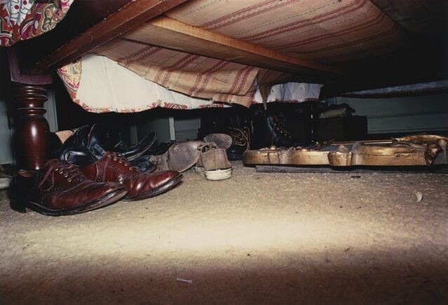 William Eggleston | Untitled (Shoes under Bed) | Artsy