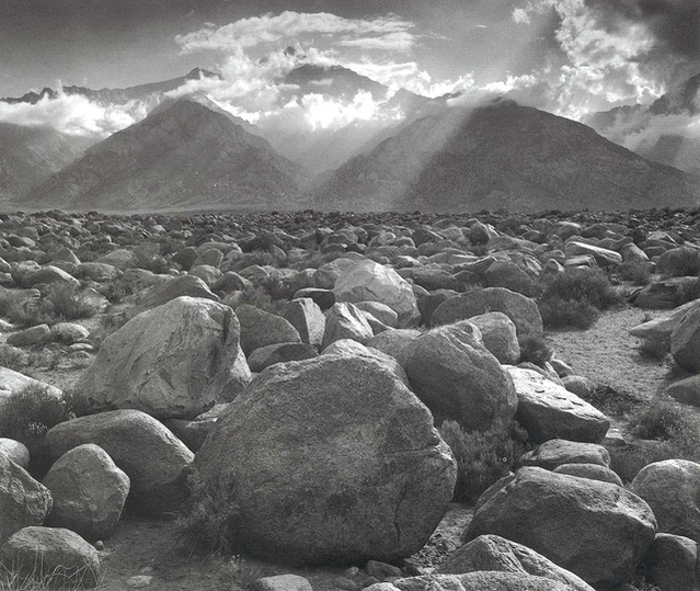 Ansel Adams Mount Williamson Sierra Nevada From