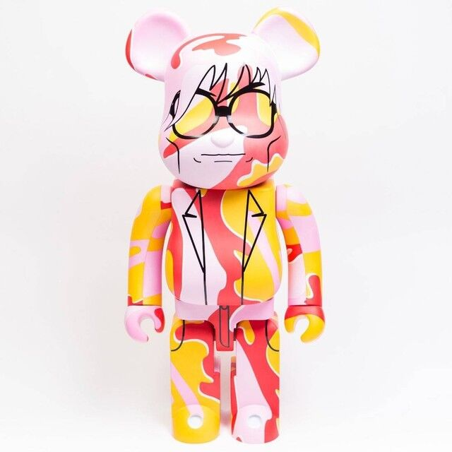 Medicom BE@RBRICK Andy Warhol Pink Camo Version 100/% 400/% Bearbrick Figure Set