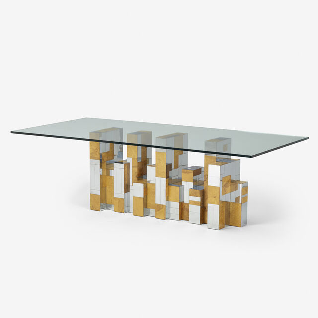 Paul Evans 1931 1987 Cityscape Dining Table C 1970