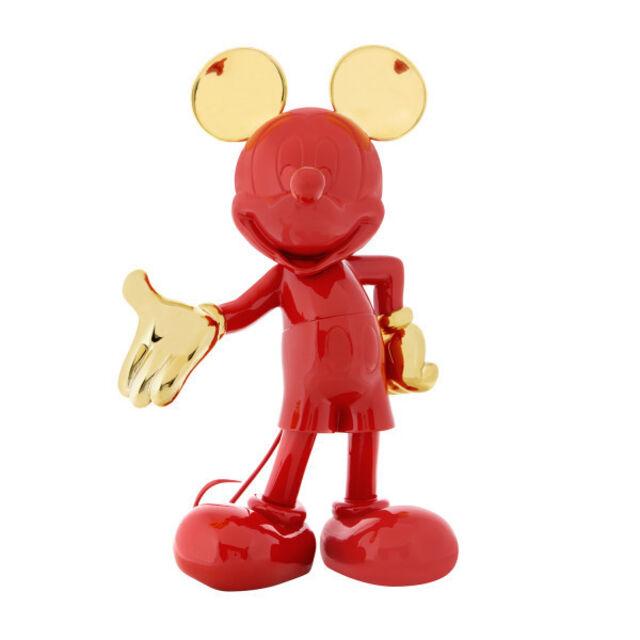 Figurine Mickey Richard Orlinski Red Rouge Sold Out Disneyland Paris !