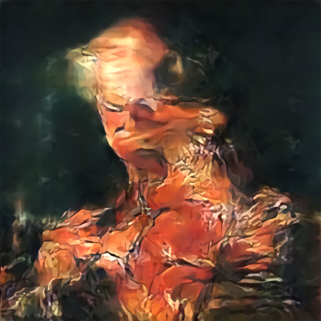 AICAN Faceless Portrait #2 HG Contemporary artsy