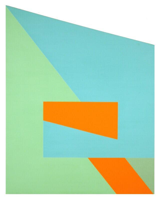 Leo Valledor, 'Milespace', 1980, Painting, Acrylic on canvas, David Richard Gallery