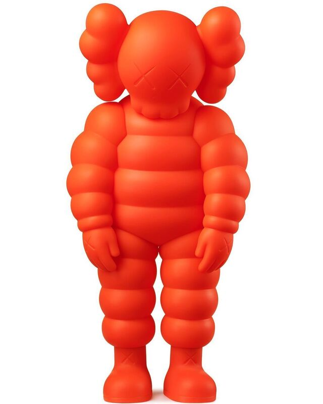 KAWS, 'WHAT PARTY (orange)', 2020, Sculpture, Vinyl, Pinto Gallery
