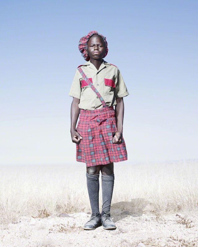Jim Naughten, 'Herero Cadet in Kilt', 2012, Photography, C-Type, KLOMPCHING GALLERY