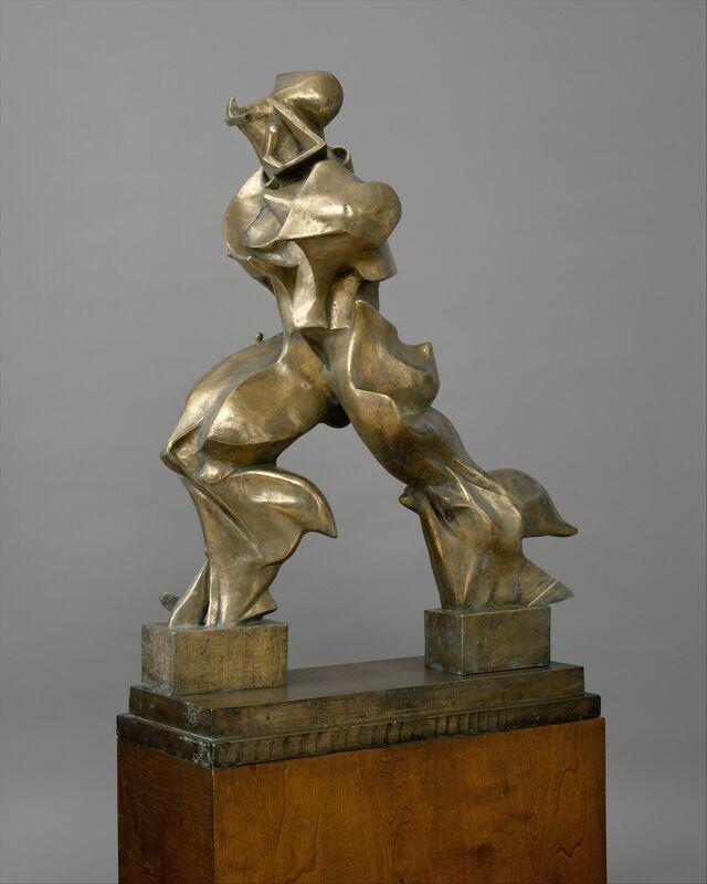 Umberto Boccioni, 'Unique Forms of Continuity in Space', 1913–1950, Sculpture, Bronze, The Metropolitan Museum of Art