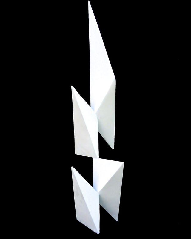 Niko Rakusa, 'Evolution', 2018, Sculpture, Powder Coated Stainless Steel, Conde Contemporary