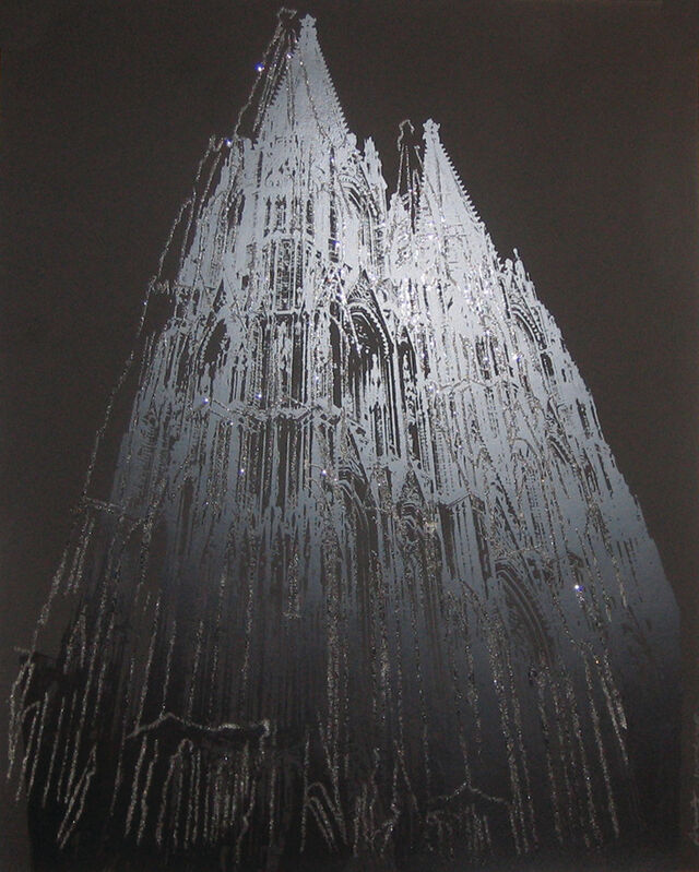 Andy Warhol, 'Cologne Cathedral II.364 unique', 1985, Print, Screenprint with diamond dust on Lenox Museum Board, OSME Fine Art