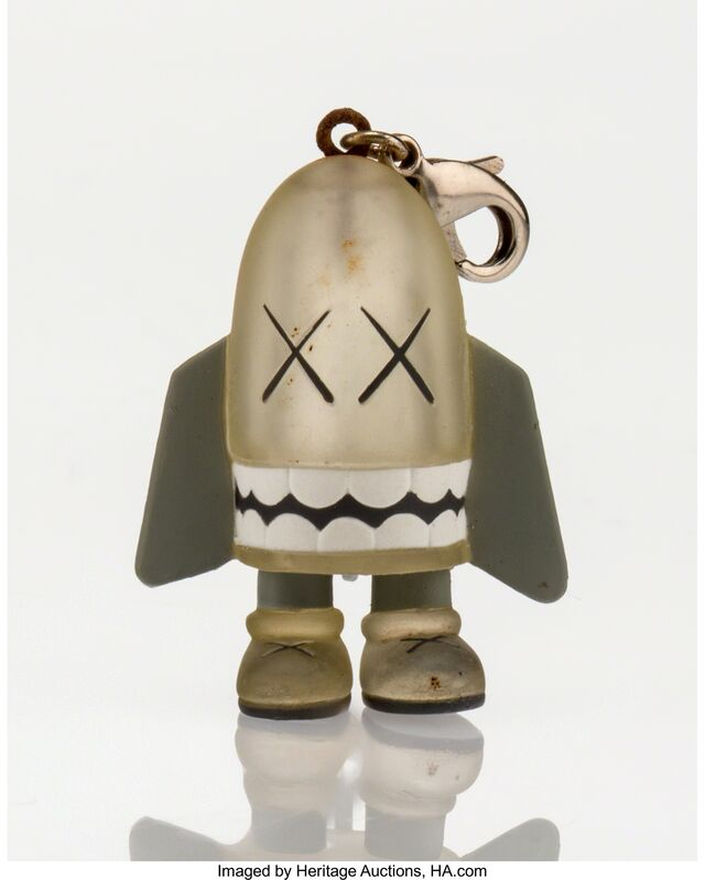 KAWS, 'Blitz Keychain (Grey)', 2011, Other, Painted cast viny, Heritage Auctions