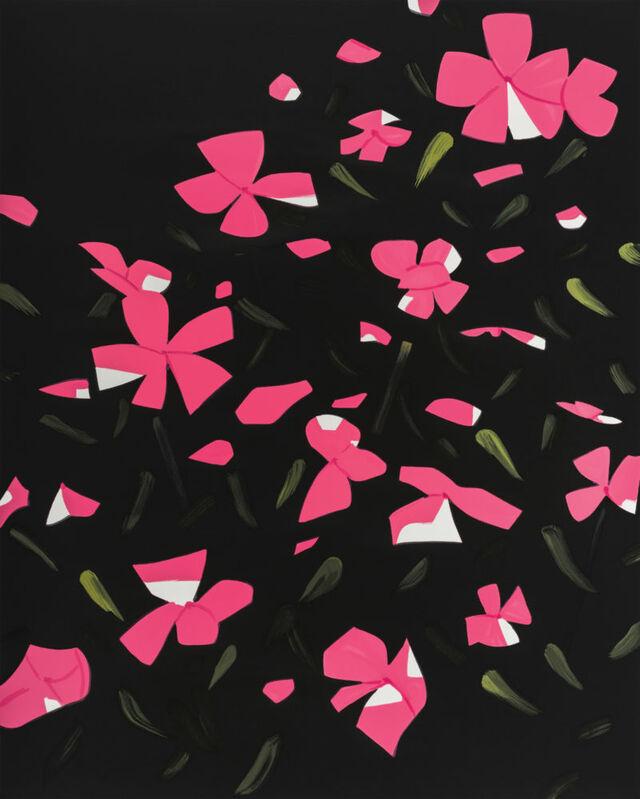 Alex Katz, 'White Impatiens', 2016, Print, 26-color silkscreen on Saunders 425 gsm paper, Zeit Contemporary Art