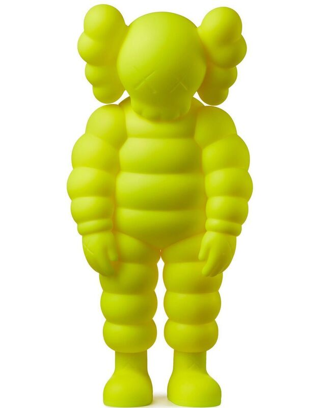 KAWS, 'WHAT PARTY (yellow)', 2020, Sculpture, Vinyl, Pinto Gallery