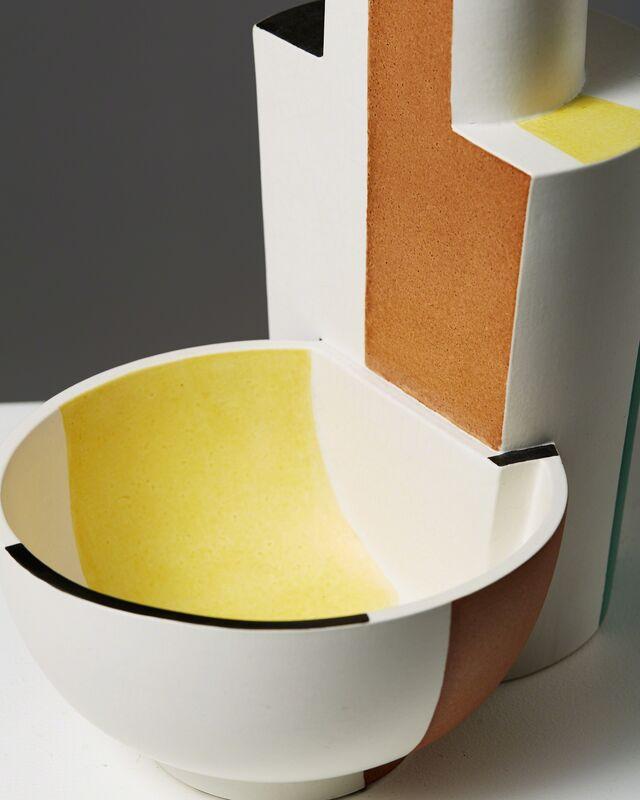 "Wilhelm Kåge, 'Vase/bowl ""Surrea""', 1940, Design/Decorative Art, Ceramic, Modernity"