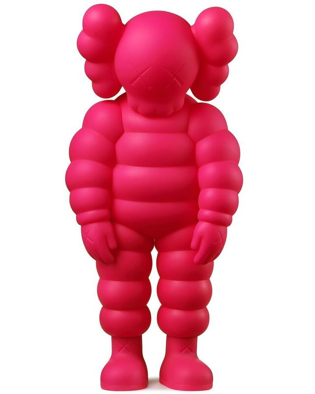 KAWS, 'WHAT PARTY (pink)', 2020, Sculpture, Vinyl, Pinto Gallery