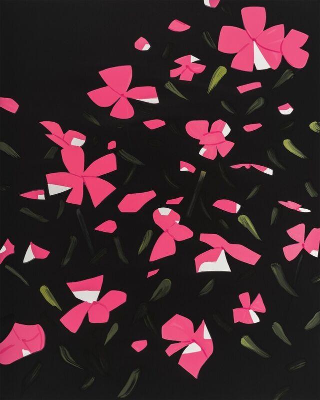 Alex Katz, 'White Impatiens', 2016, Print, 26-color silkscreen, Haw Contemporary