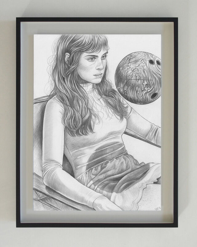 Martine Johanna, 'Release', 2020, Drawing, Collage or other Work on Paper, Graphite on paper, Massey Klein Gallery