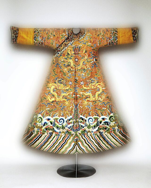 'Festival robe worn by Emperor Qianlong', Second half of 18th-century, Fashion Design and Wearable Art, The Metropolitan Museum of Art
