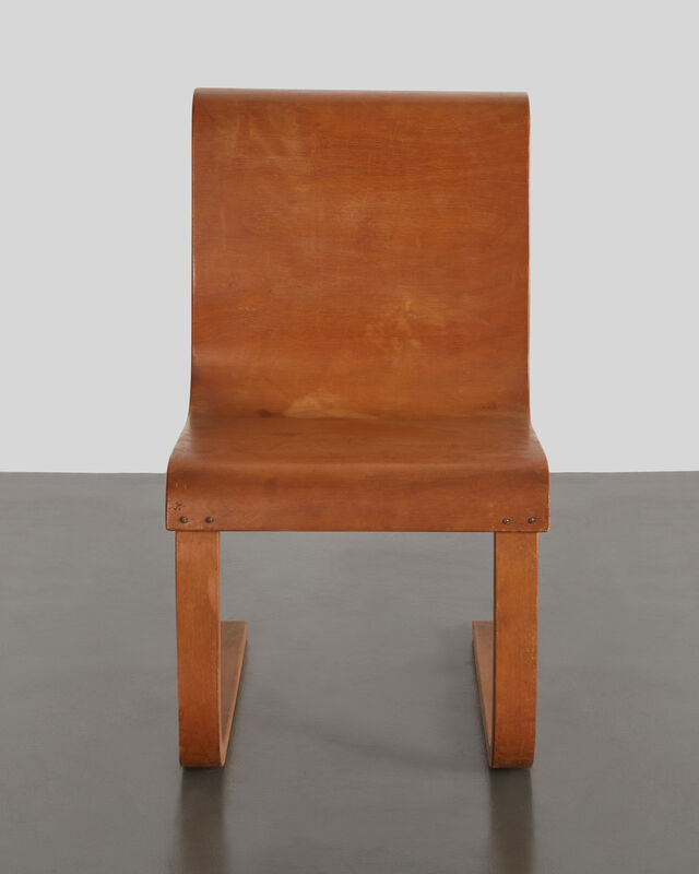 Alvar Aalto, 'Cantilever Chair, Model no. 21', Designed 1932, this example 1938, 1947, Design/Decorative Art, Molded birch plywood with birch frame, R & Company