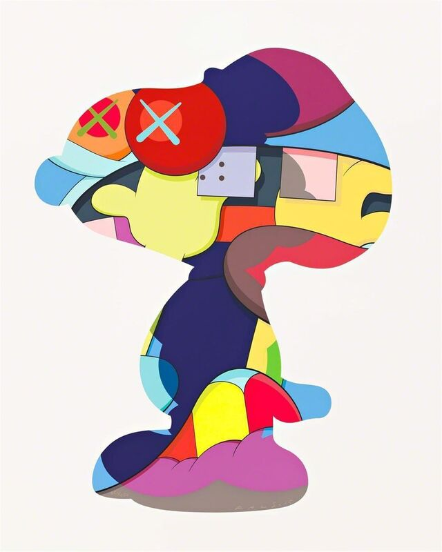 KAWS, 'No One's Home', 2015, Print, Silkscreen on paper, from edition of 250, Carmichael Gallery