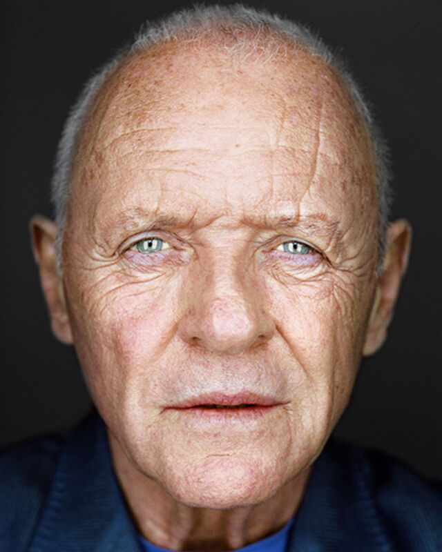 Martin Schoeller, 'Anthony Hopkins', Photography, Archival Pigment Print, CAMERA WORK