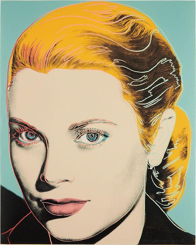 Andy Warhol, 'Grace Kelly', 1984, Print, Screenprint in colors, on Lenox Museum Board, the full sheet., Phillips