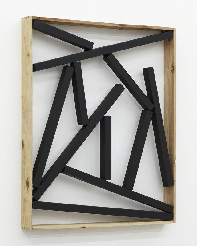 Kishio Suga, '素空 Elements of Space', 1987, Sculpture, Wood, acrylic, Tomio Koyama Gallery