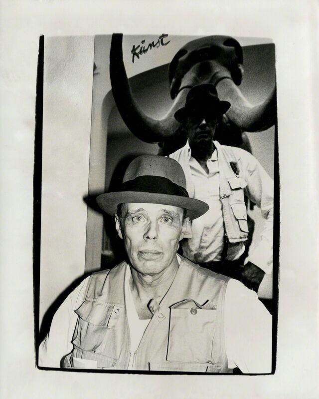 Andy Warhol, 'Joseph Beuys', 1980, Photography, Unique silver gelatin print, Gagosian