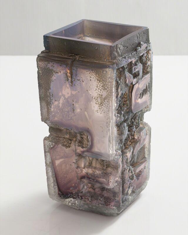 Thaddeus Wolfe, 'Unique blown glass vessel', 2015, Design/Decorative Art, Hand-blown, cut and polished glass, R & Company