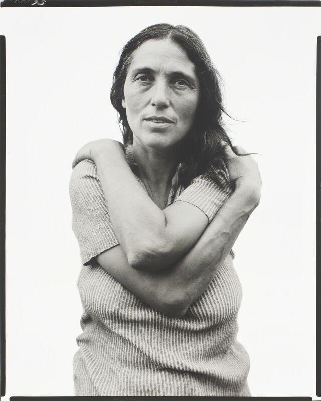 Richard Avedon, 'June Leaf, Sculptress, Mabou Mines, Nova Scotia,  July 18', 1975, Photography, Gelatin silver print, Christie's