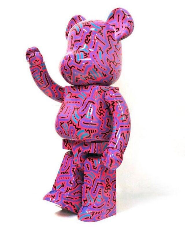 Keith Haring, 'Keith Haring Bearbrick 1000% Companion (Haring BE@RBRICK)', 2018, Ephemera or Merchandise, Painted vinyl cast resin figure, Lot 180