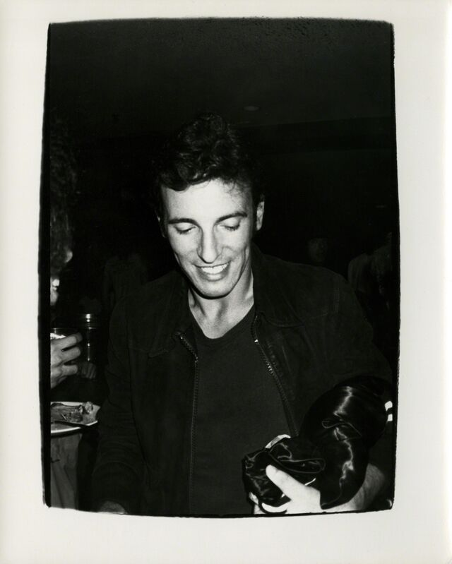 Andy Warhol, 'Andy Warhol, Photograph of Bruce Springsteen, 1978', 1978, Photography, Silver gelatin print, Hedges Projects