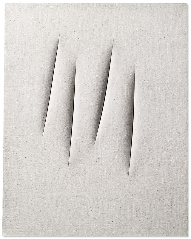 Lucio Fontana, 'Concetto Spaziale, Attese (Spatial Concept, Waiting)', 1965, Painting, Water-based paint on canvas, Robilant + Voena