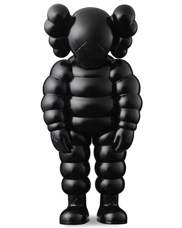 KAWS, 'WHAT PARTY (black)', 2020, Sculpture, Vinyl, Pinto Gallery