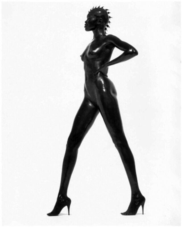 Herb Ritts, 'Alek Wek, Los Angeles', 1998, Photography, Gelatin Silver Print, Staley-Wise Gallery