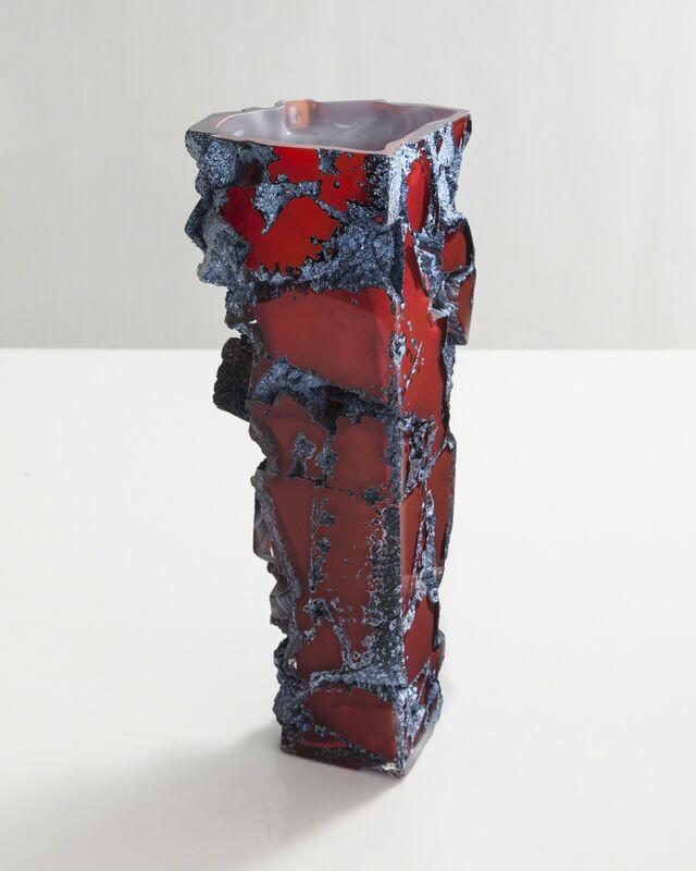 Thaddeus Wolfe, 'Unique blown glass assemblage vessel', 2015, Design/Decorative Art, Hand-blown, cut and polished glass., R & Company
