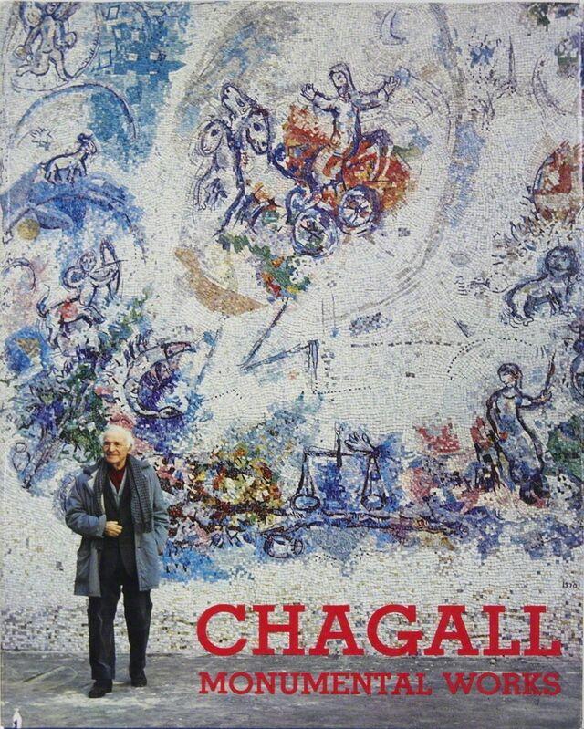 Marc Chagall, 'Chagall Monumental Works XXieme Siecle', 1973, Ephemera or Merchandise, Book, ArtWise
