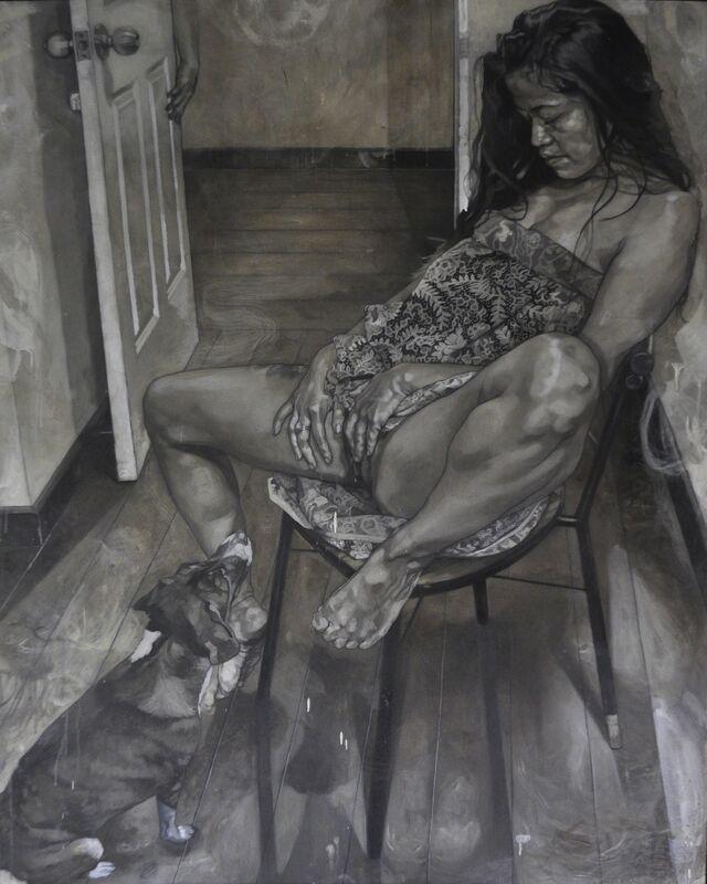 Kaloy Sanchez, 'Onania', 2014, Mixed Media, Arcylic and graphite on canvas, A3 Arndt Art Agency