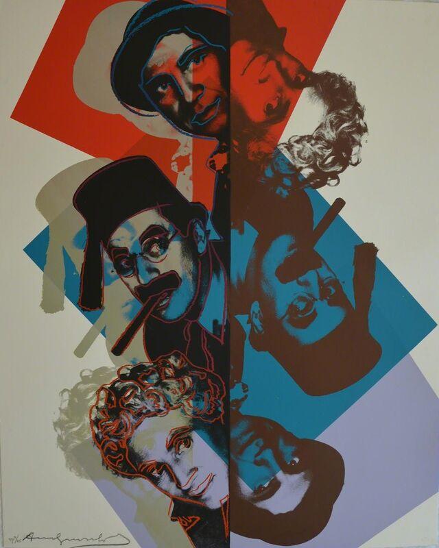 Andy Warhol, 'Marx Brothers (FS II.232) Trial Proof', 1980, Print, Screenprint on Lenox Museum Board, Revolver Gallery
