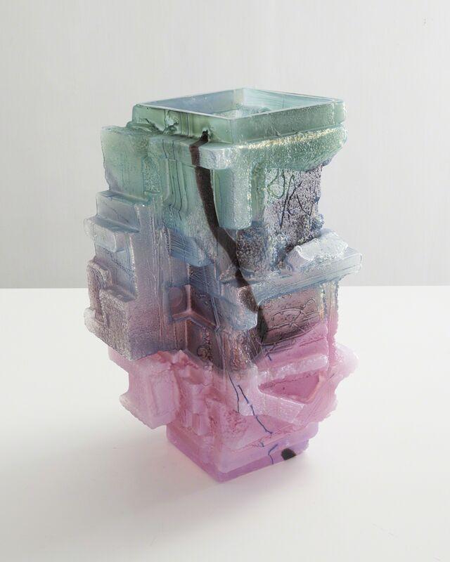 Thaddeus Wolfe, 'Unique Assemblage vessel ', 2015, Design/Decorative Art, Hand-blown, Cut and Polished glass, R & Company