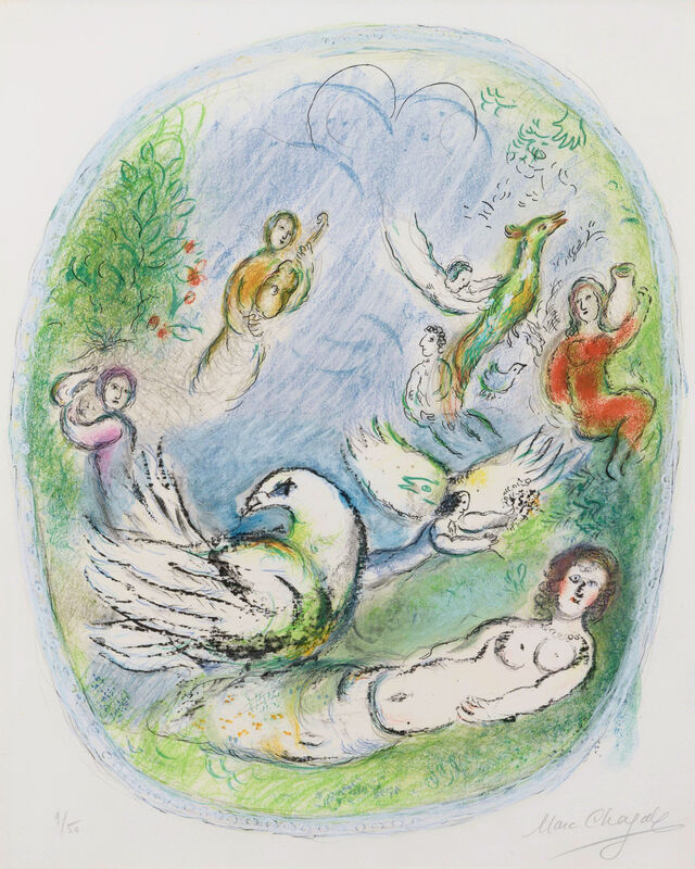 Marc Chagall, 'L'Age d'Or', 1968, Print, Lithograph, Leslie Sacks Gallery