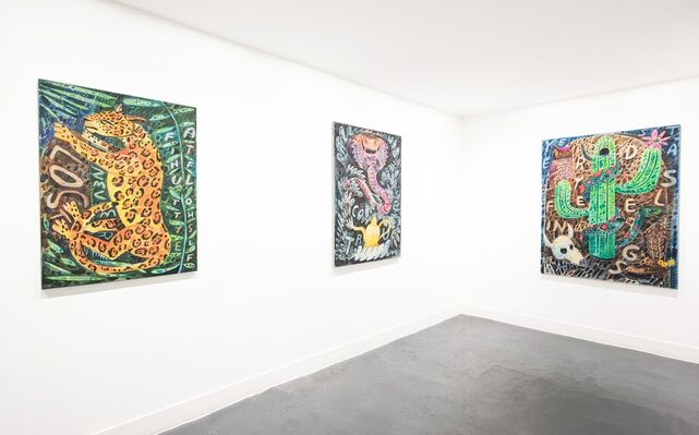Thoughts From A Stolen Land, installation view
