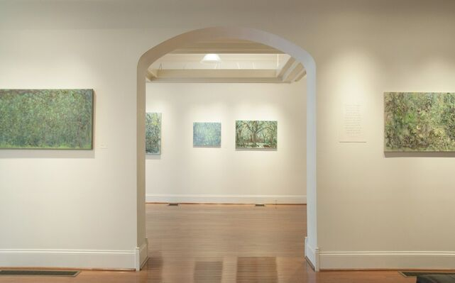 The View From Here: Paintings by Lanna Pejovic, installation view