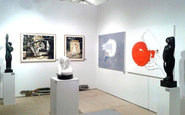 Faur Zsofi Gallery at Palm Springs Fine Art Fair 2015, installation view
