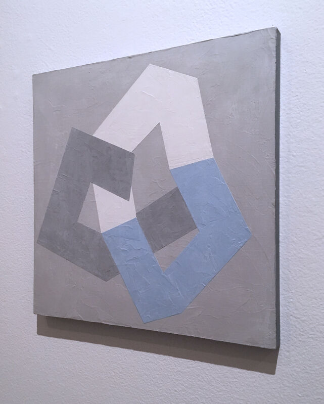 Kati Vilim, 'Options VI', 2019, Painting, Plaster and acrylic on wood panel, Deep Space Gallery