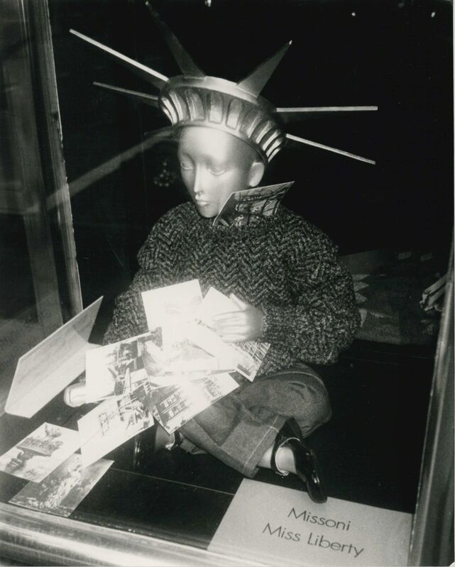 Andy Warhol, 'Liberty Mannequin', 1986, Photography, Gelatin silver print, Hedges Projects
