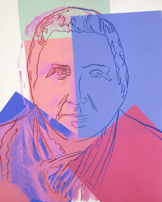 Andy Warhol, 'Gertrude Stein', 1980, Print, Screenprint, Ronald Feldman Gallery